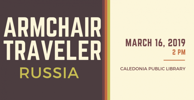 Armchair Traveler: Russia