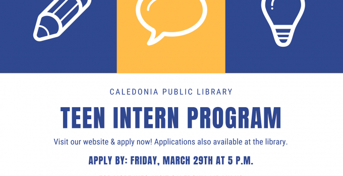 Apply to be our Summer Intern