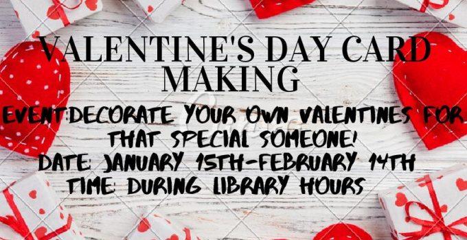 Valentine's Card Making